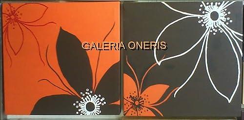 Cuadros Decorativos Modernos Flores Diptico Cuadro