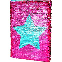 Reversible Sequins Notebook