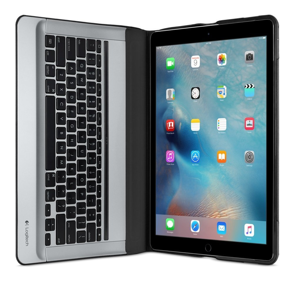 Amazon.com: Logitech CREATE Backlit Keyboard Case for 12.9-inch iPad ...