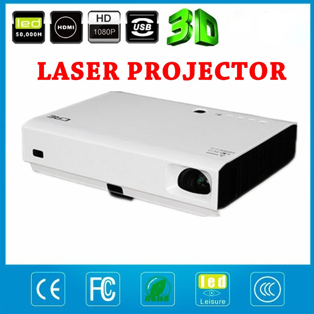 DLP Mini LED proyector láser 3d 1080p Full HD 4500 Lumens ...