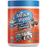 Heavy-Duty Cleaning Supplies Wipes (90-Count) All-Purpose Multi-Surface Use | Deep, Professional Clean for Kitchens, Bathrooms, Countertops, Grease, Indoor, Outdoor | Environmentally Compliant