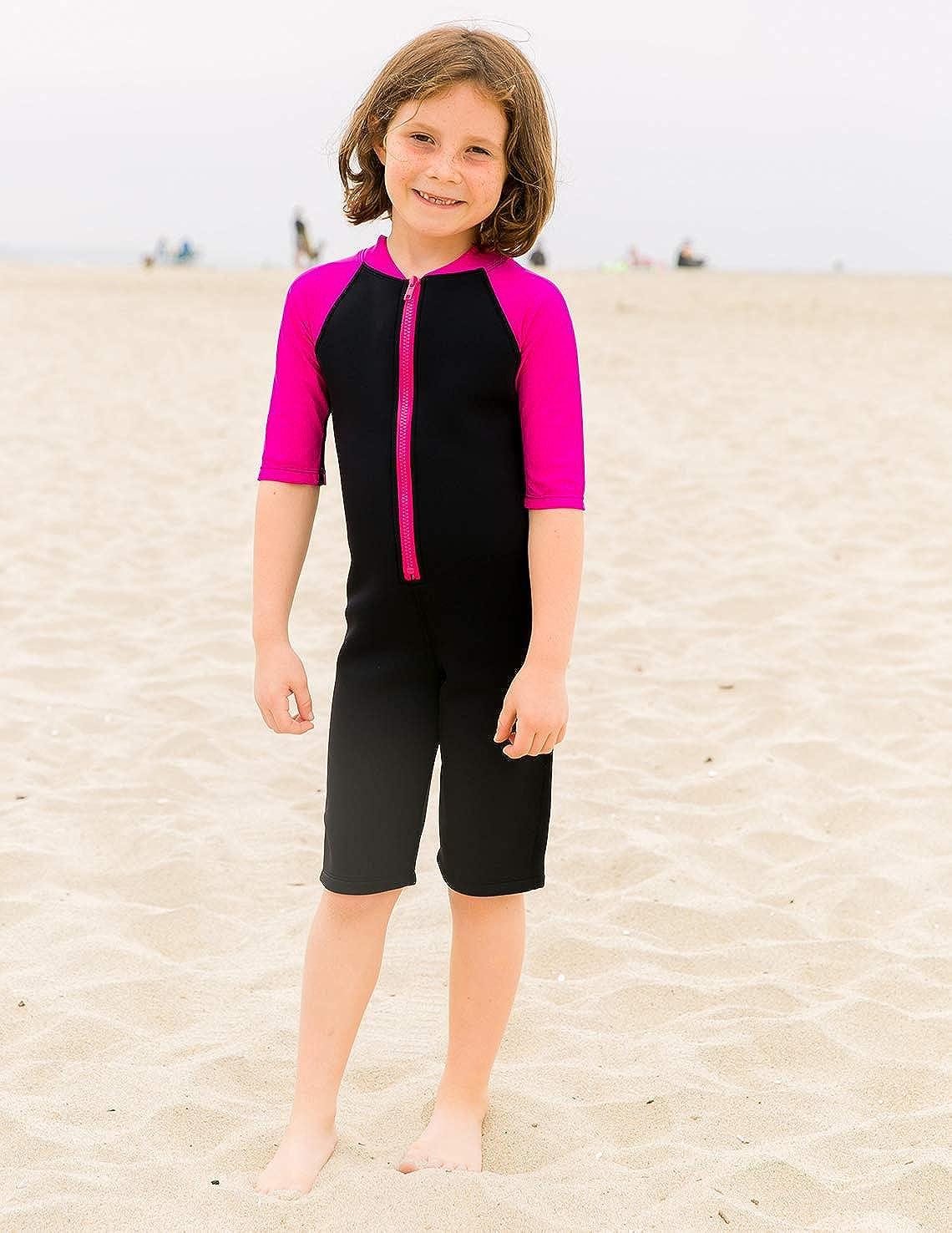 Amazon.com: Tuga Girls térmica traje de neopreno ...