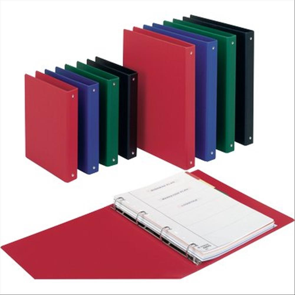 Esselte Raccoglitore a 4 anelli, Per archivio, Plastica, Formato utile 22x30, Dorso 3.3 cm, Rosso, Daily, 395693300