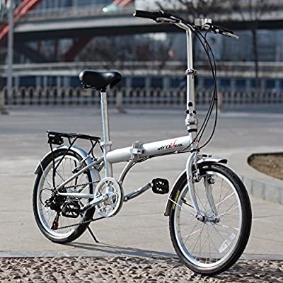 "EBS Folding Bike, Commuter Folding Bicycle 20"""