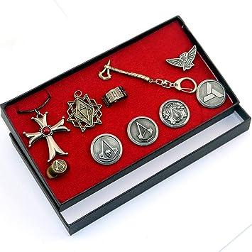 UII AssassinS Creed Colgante Collar Cruzado AssassinS ...