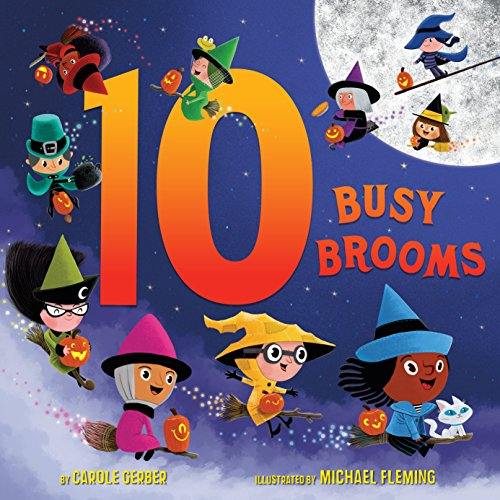 10 Busy Brooms (Continental Broom)