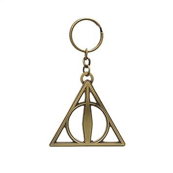 Harry Potter - Metal Llaveros Reliquias de la Muerte: Amazon ...