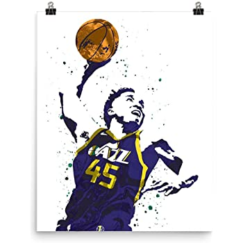 Donovan Mitchell Utah Jazz Poster