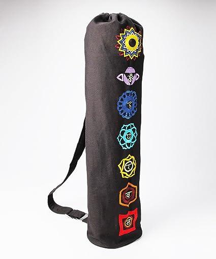 Amazon.com: Bolsa de yoga – Chakra bolsa para esterilla de ...