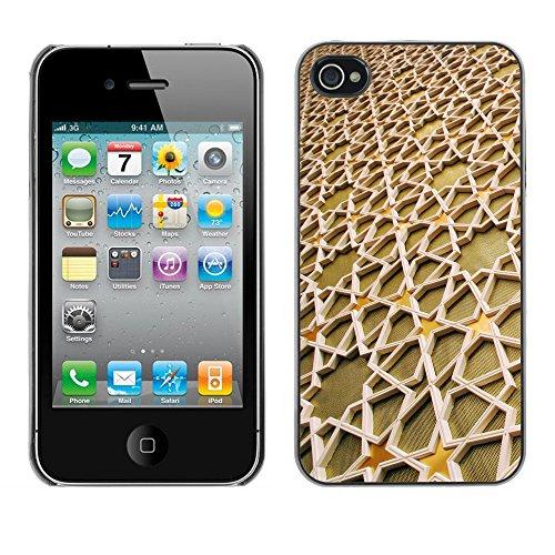 Premio Sottile Slim Cassa Custodia Case Cover Shell // V00001913 motif islamique // Apple iPhone 4 4S 4G