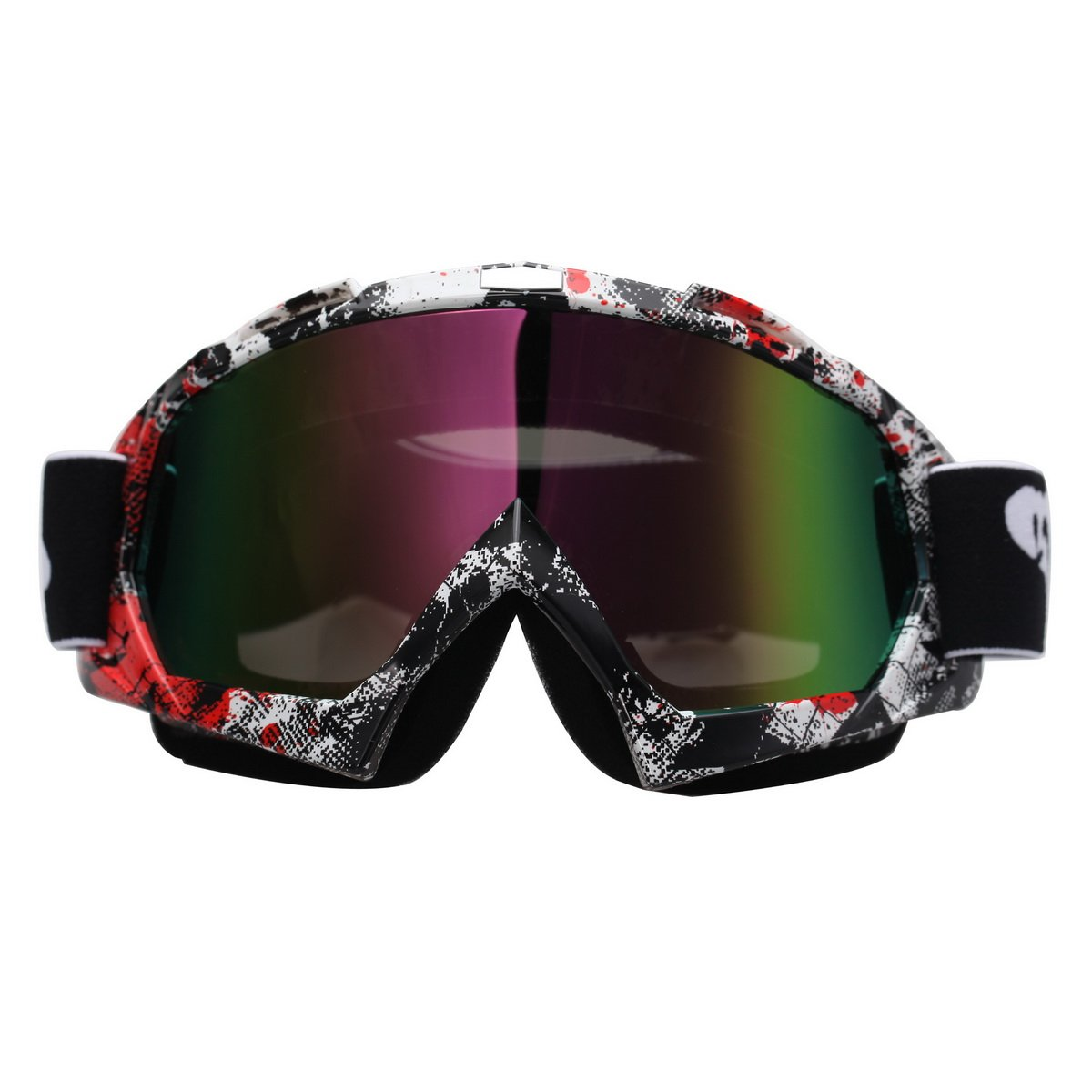 Possbay Motorcycle Goggels, Motocross Glasses Sports Protective Eyewear for ATV Dirt Bike Riding Cycling Skiing Snowboard