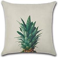 Decorativa almohada tropisch hojas Plantas Impresión Impreso Sofá