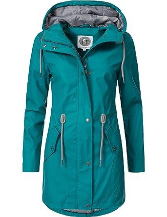 Peak Time Damen Allwetter Regenjacke Regenmantel L60049 3 Farben S-XXL   Amazon.de  Bekleidung 282238c47f