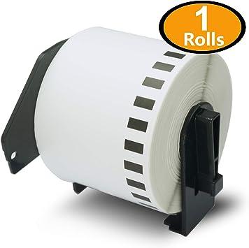 Alternative Etiketten Rolle für Brother P Touch-QL-570 DK 11 Office Line Serie