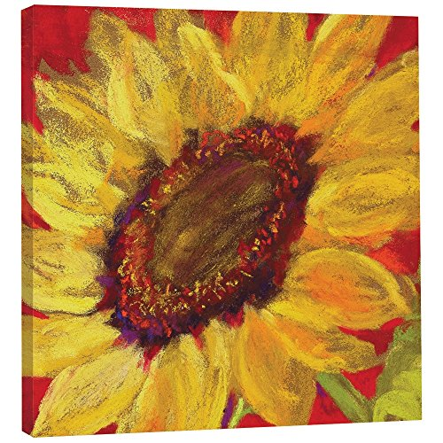 Tree-Free Greetings EcoArt Home Decor Wall Plaque, Inches, Sunflower Prima Donna Themed