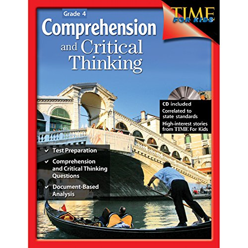 Third Grade Cd - Comprehension and Critical Thinking Grade 4 (Comprehension & Critical Thinking)