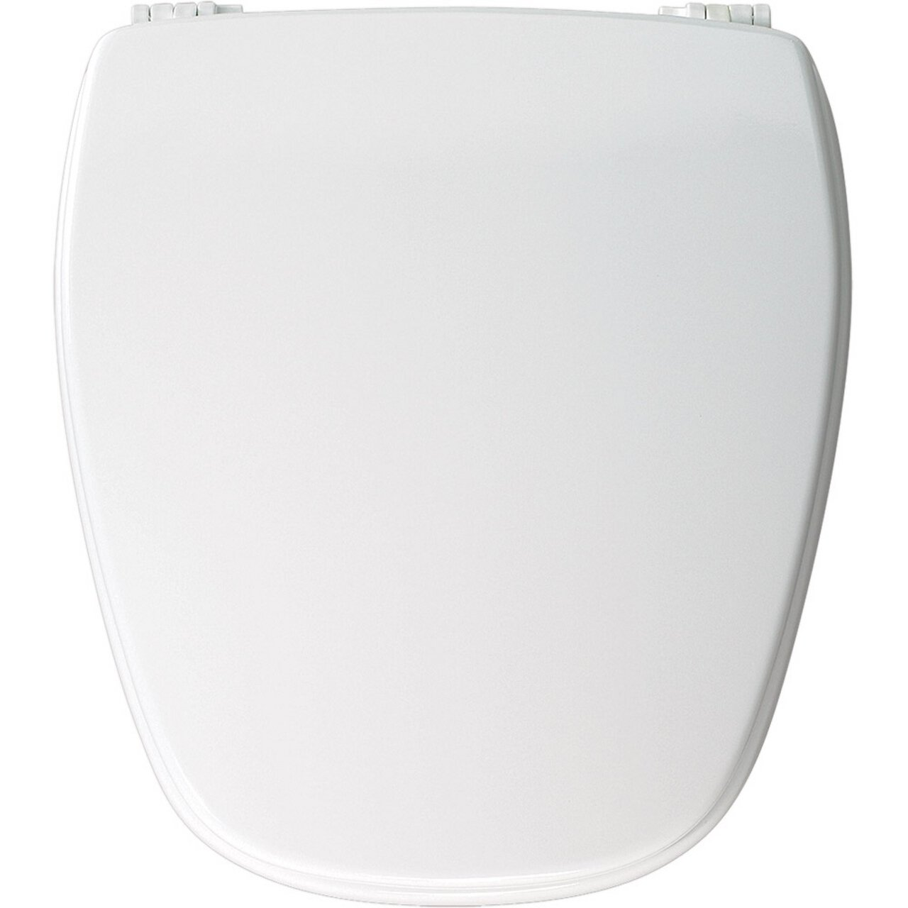 Bemis NW209E10000 Molded Wood Round Toilet Seat, White by Bemis