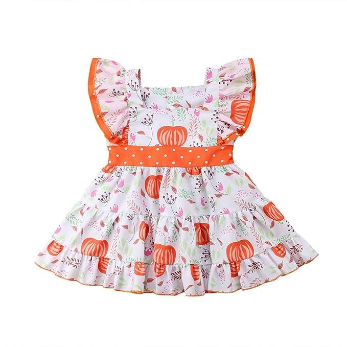 Wang-RX Vestido de Fiesta de Halloween para bebés y niñas, Vestido ...