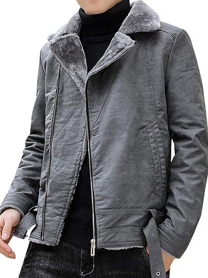 [ネルロッソ] 革ジャン ブルゾン メンズ puレザー ジャンパー スタジャン 大きいサイズ ミリタリージャケット ライダース 正規品 cme24506
