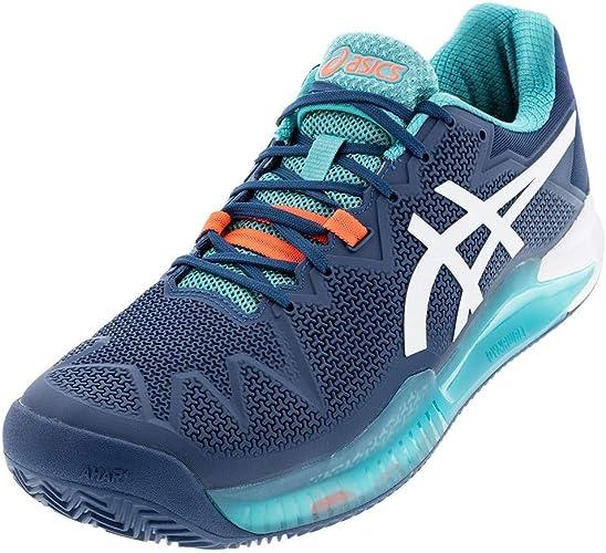 Amazon.com: ASICS Gel-Resolution 8 Clay - Zapatillas de ...
