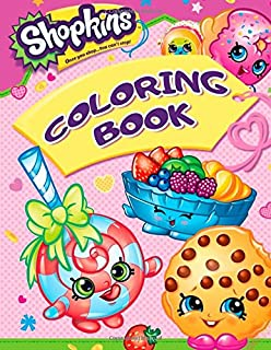 Shopkins Coloring Book Great Pages For Toddlers And Kids