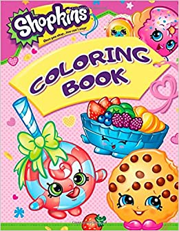 Shopkins Coloring Book Great Pages For Toddlers And Kids Candy Bar 9781981866427 Amazon Books
