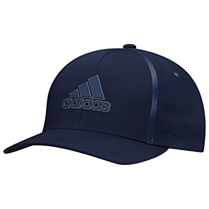 Amazon.com  adidas Tour Delta Textured Hat Golf Flexfit Fitted ... adf93674f5b4