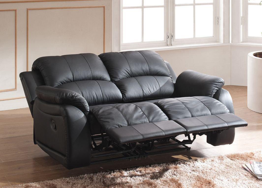 Mapo Möbel Completo de Piel sofá sofá sillón de televisión ...