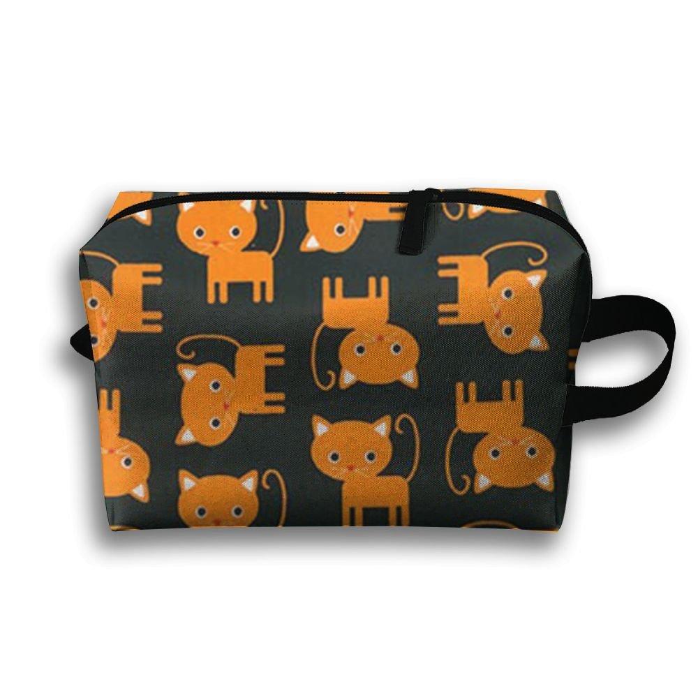 3d1f9f6945c3 SO27Tracvel Halloween Cat Black Toiletry Bag Dopp Kit Tactical Bag  Accessories Travel Case delicate
