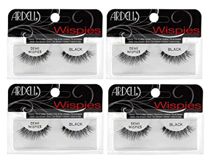 fd737bee38f Amazon.com: Ardell Fashion Lashes Black Demi Wispies Multipack: Home ...