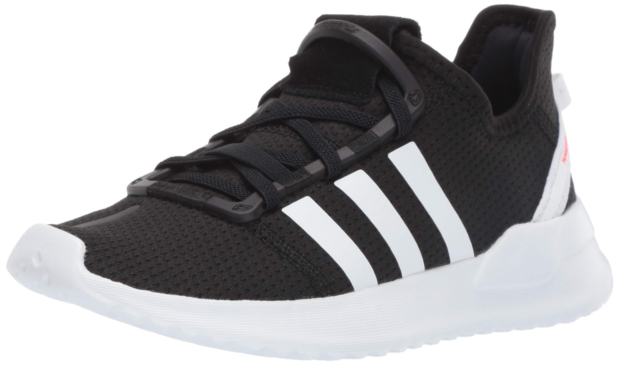 adidas Originals Baby U_Path Running Shoe Black/White/Shock red 5K M US Toddler by adidas Originals (Image #1)