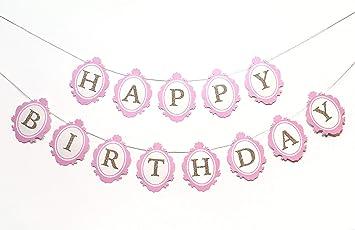 Amazon Com Once Upon A Time Birthday Banner Princess Theme