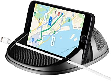 GPS Devices and More Anti-Slip Desk Phone Stand Compatible with iPhone Car Phone Mount Silicone Car Pad Mat for Various Dashboards Loncaster Car Phone Holder AA3 Samsung Android Smartphones