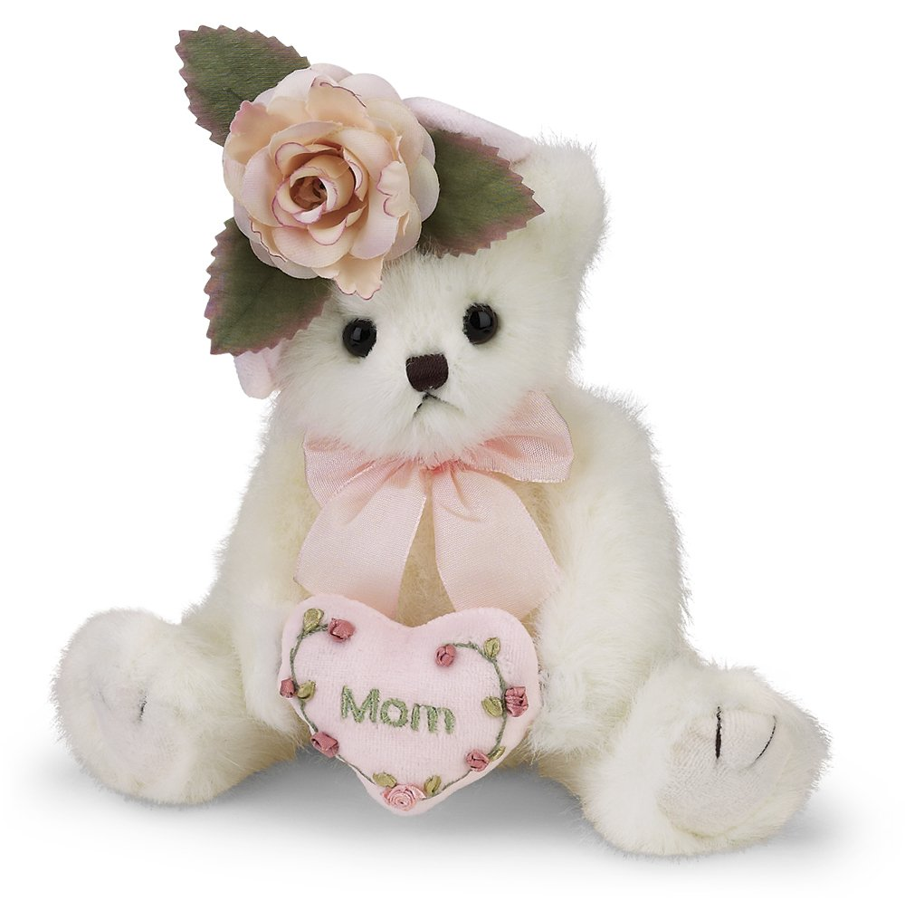 Mom Gifts Mothers Day Gift from Daughter Son or Kids for Birthday Christmas Bearington Mommy Tenderheart Teddy Bear for Mom Mother's on Their Day