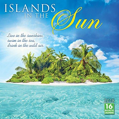 Islands In The Sun 2018 Wall Calendar (CA0139)
