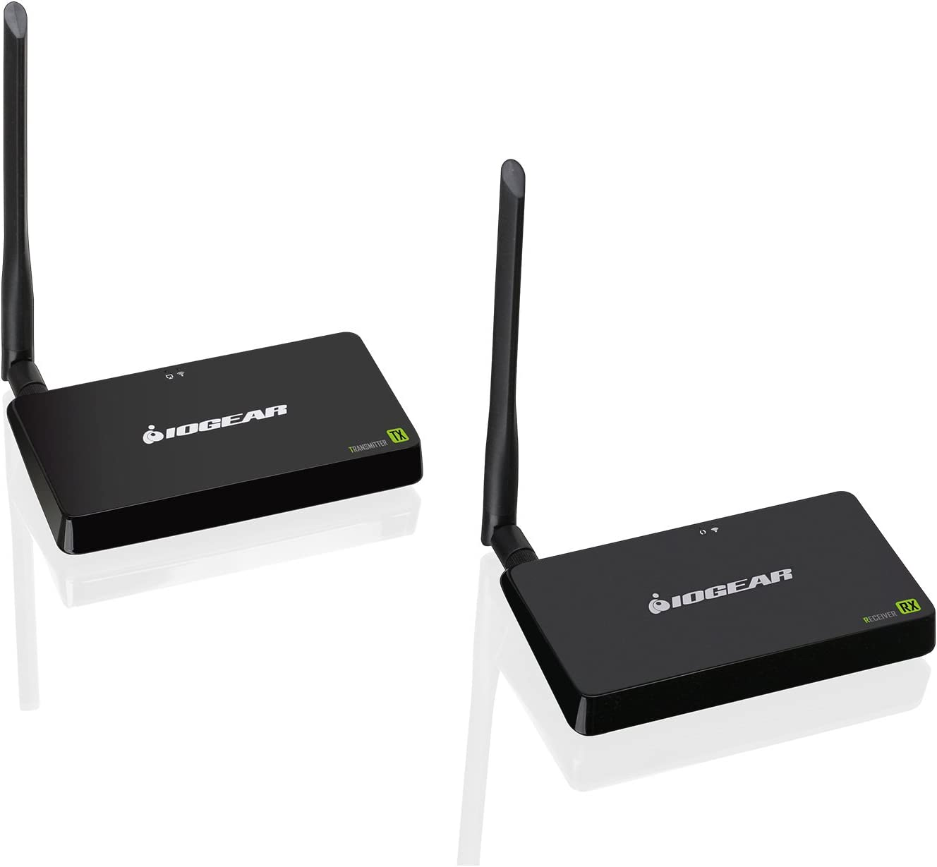 IOGEAR Wireless HD Plug and Play HDMI Computer//TV//Projector Audio Video Audio Extender Kit