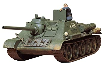 Tamiya 35072 35072-1:35 - Maqueta de Tanque Ruso SU-85 (1), construcción de maquetas, de plástico, sin barnizar