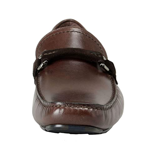 Amazon.com: Salvatore Ferragamo Mens GRANPRIX Driving Moccasins Shoes US 6.5 EU 39.5 EE Brown: Shoes