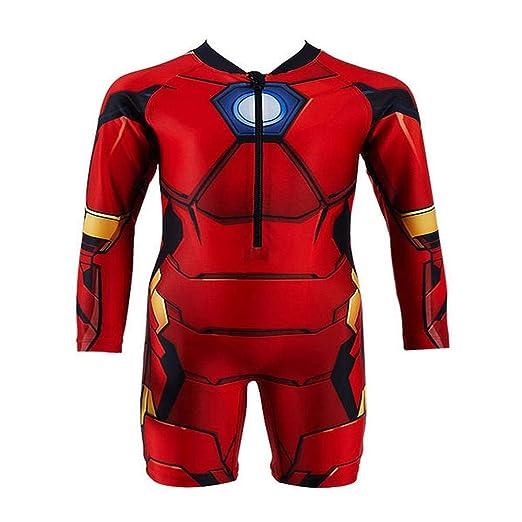 JLWF Chicos Traje De Baño Avengers Estados Unidos Capitán ...