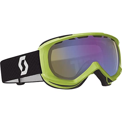 b07ab7fff91 Amazon.com   Scott US Reply Goggle (Neon Green Illuminator)   Ski ...