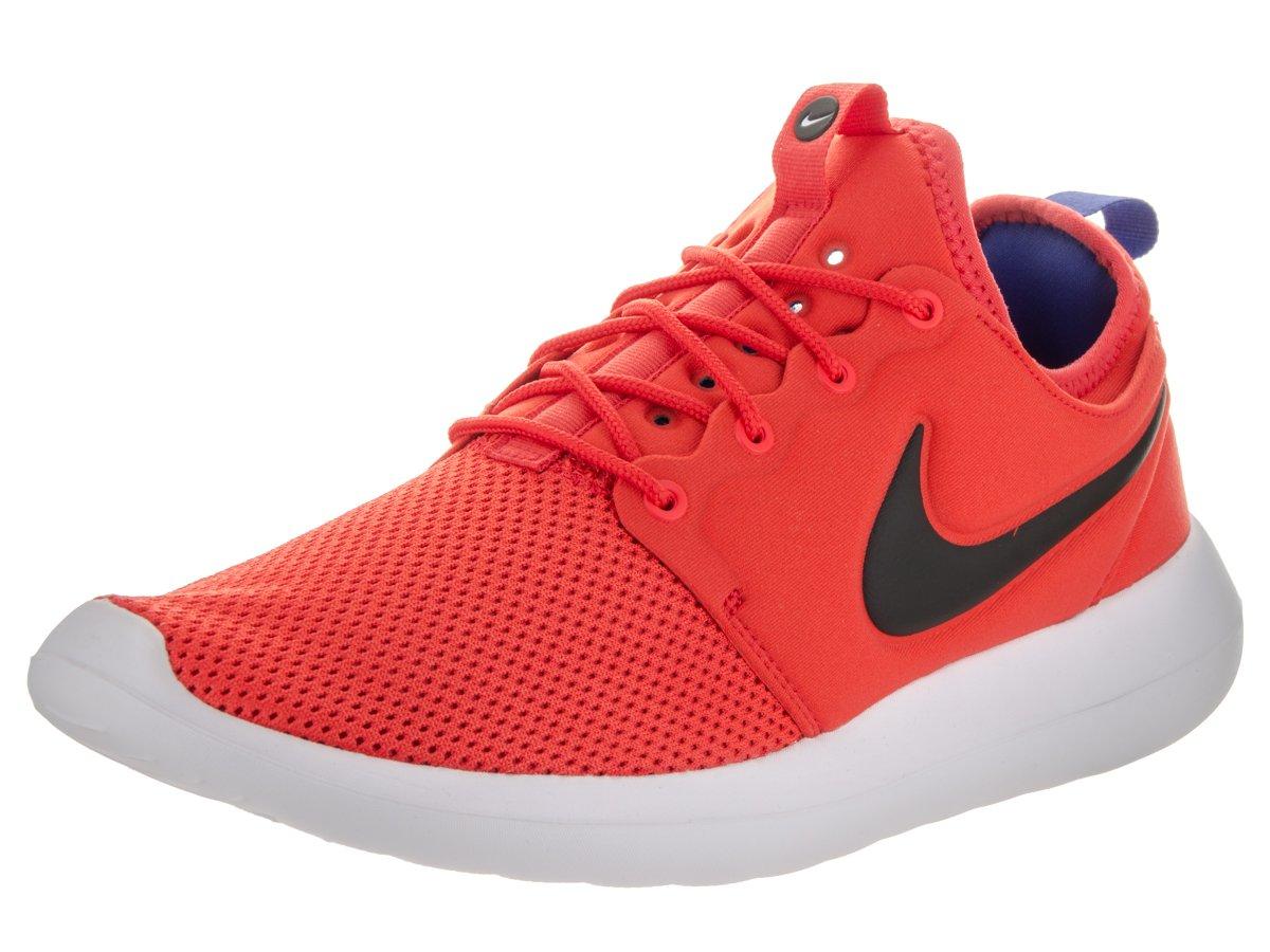Nike Herren Roshe Two Laufschuhe  475 EU|Orange (Max Orange/Schwarz-wei?)