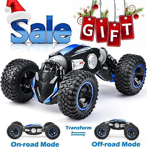 NQD RC Car Off-Road Vehicles Rock Crawler 2.4Ghz Remote Control Car Monster Truck 4WD Dual Motors Electric Racing Car, Kids Toys RTR Rechargeable Buggy Hobby - Remote Monster Controlled Truck