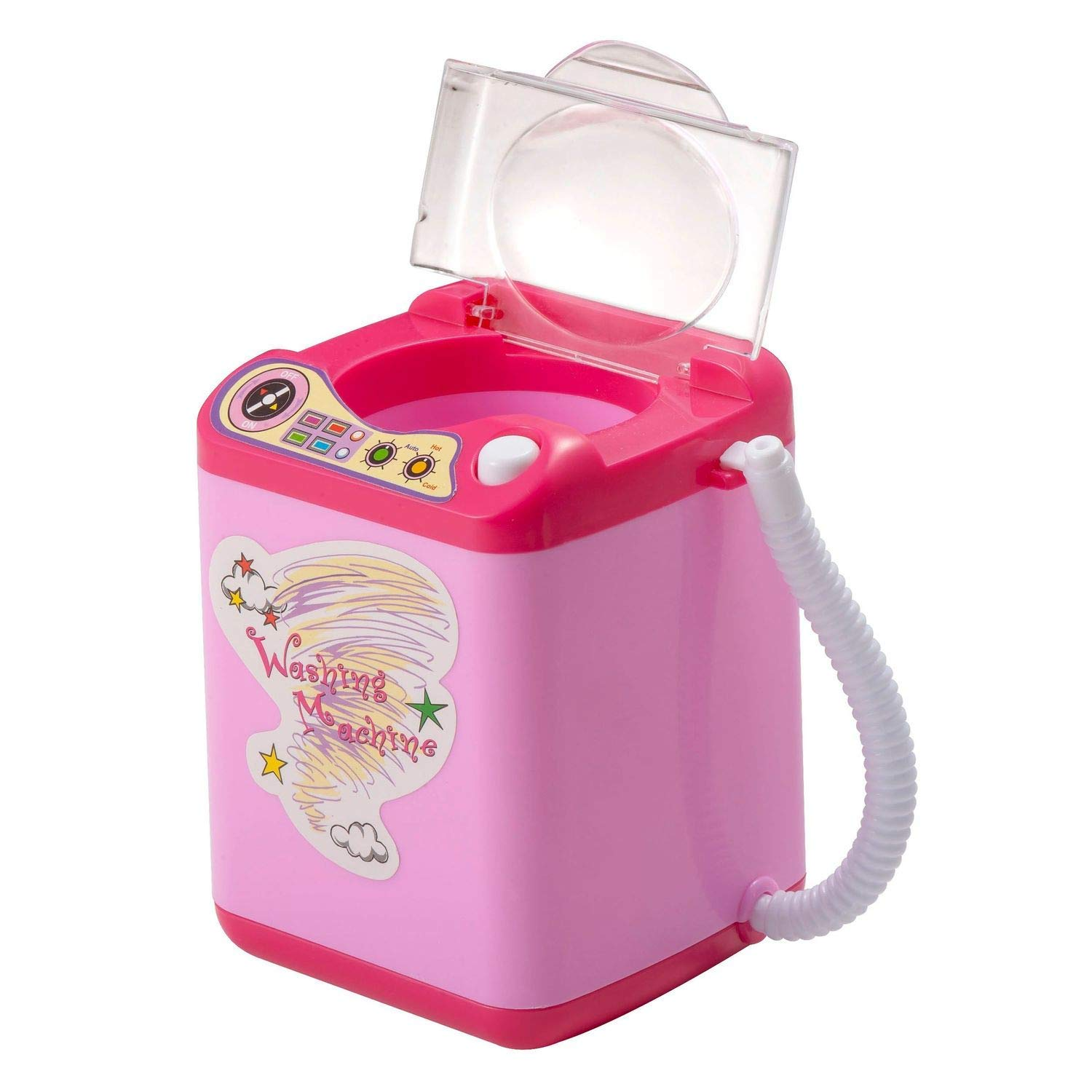 Zodaca Makeup Brush Cleaner Device, Automatic Washing Machine/Mini Toy for Makeup Brushes, Blender Sponge