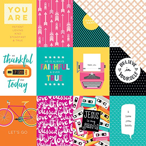 Illustrated Faith Bright & Brave Cardstock 12