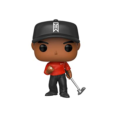 Funko Pop! Golf: Tiger Woods (Red Shirt): Toys & Games