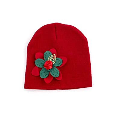 d8111f32713 Crazy4Bling Solid Red Christmas Holiday Ornate Simple Kids Flower ...
