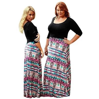 CANDLLY Mamá y Hijas Fiesta Vestidos Playa Vestidos de Flores y ...
