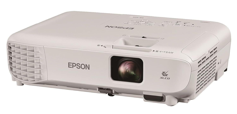 EPSON プロジェクター EB-X05 3300lm 15000:1 XGA 2.5kg 無線LAN対応(オプション)   B074K5H3VN