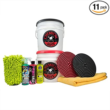Amazon Com Chemical Guys Hol129 Best Two Bucket Wash And Dry Kit