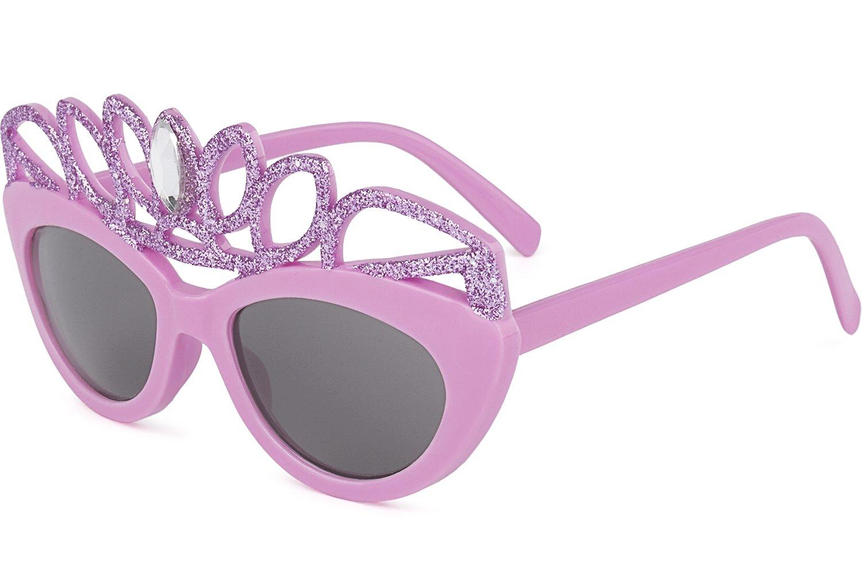 8/ans Kiddus Lunettes de soleil amusantes de princesse avec protection UV400/pour les yeux pour fille /Âge 4